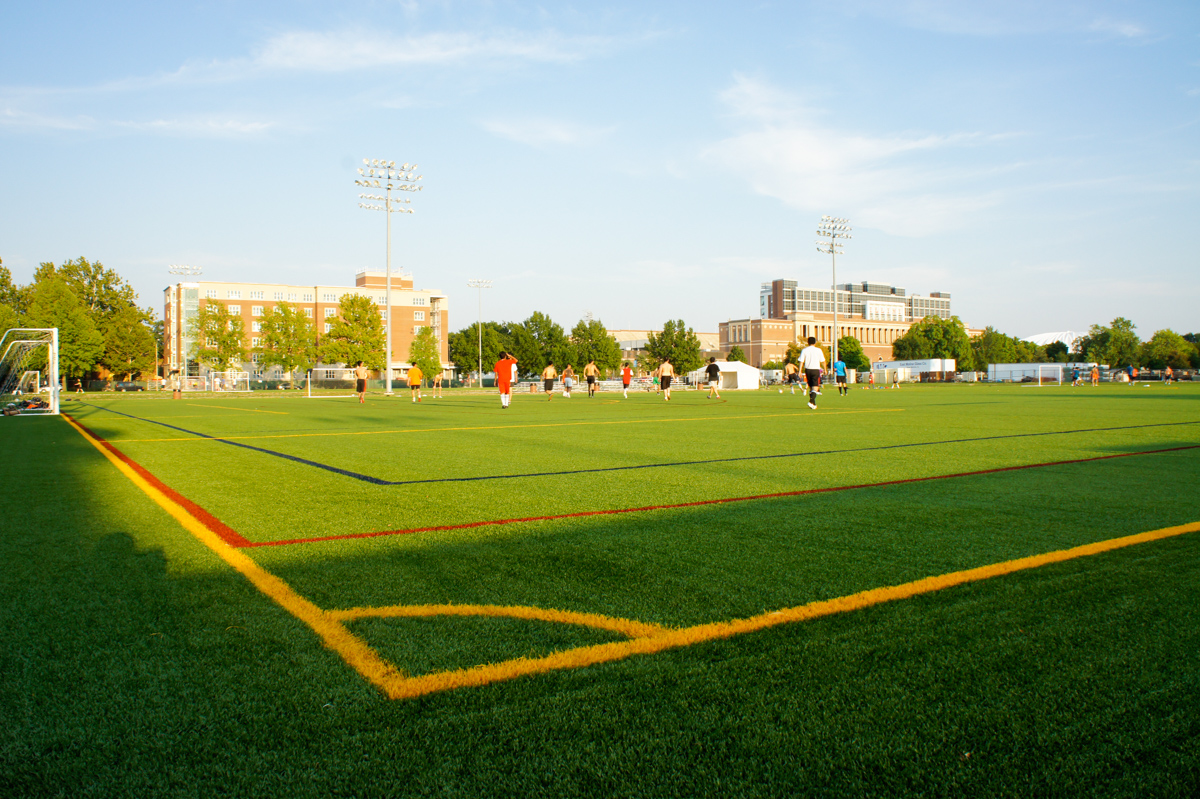 Outdoor Center Turf Fields