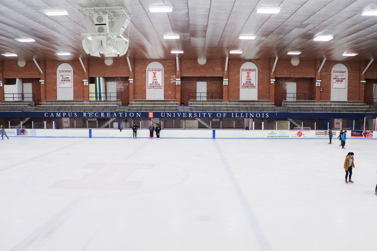 Ice Arena Rink