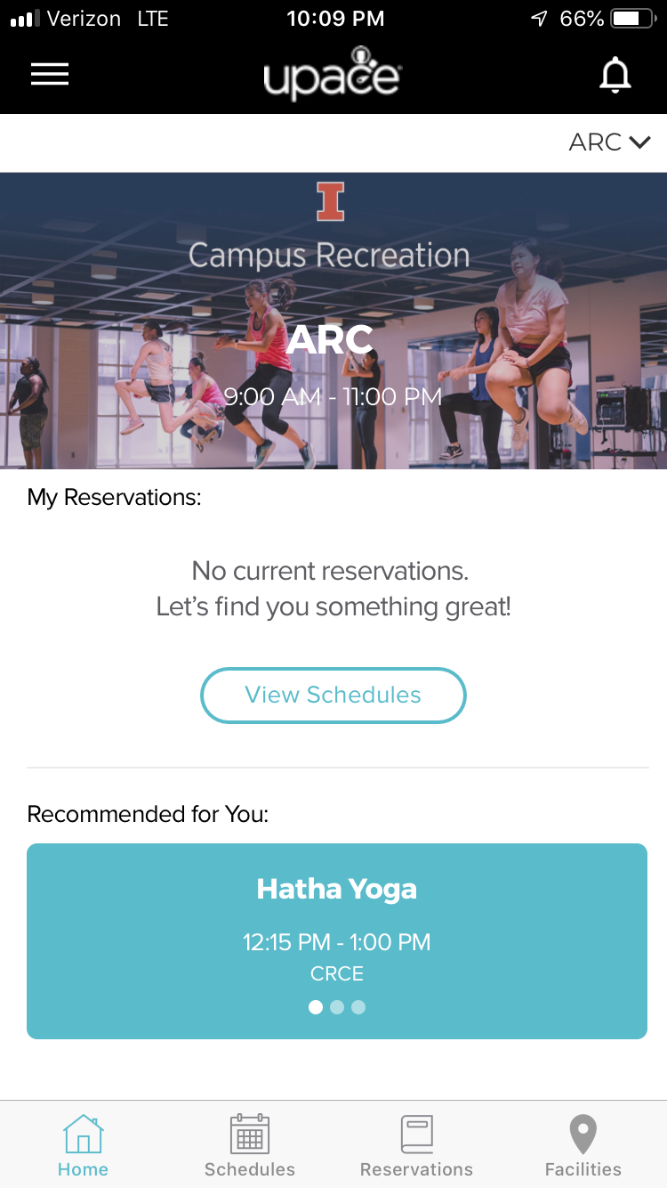 Upace App Screen Recommended Yoga-01