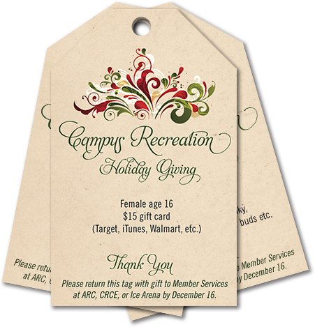 Campus Recreation Cares – Our Giving Trees