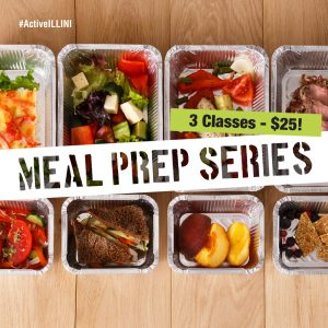 Spring 2018 Meal Prep Series Classes Poster