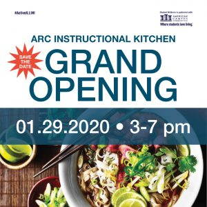Instructional Kitchen Grand Opening