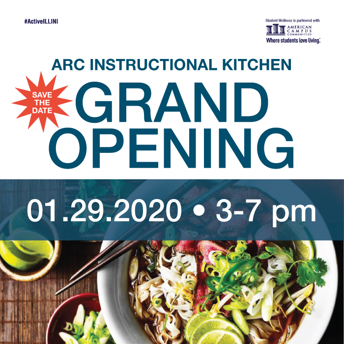ARC Instructional Kitchen Grand Opening