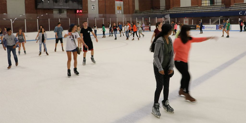 Welcome Week Skating