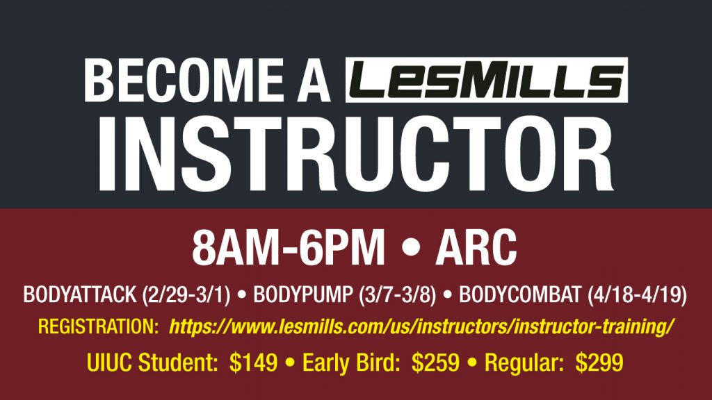Les Mills BodyAttack Instructor Course