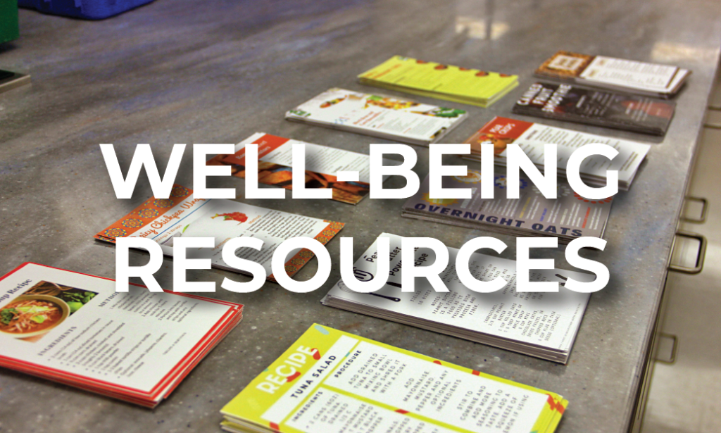 Well-Being Resources